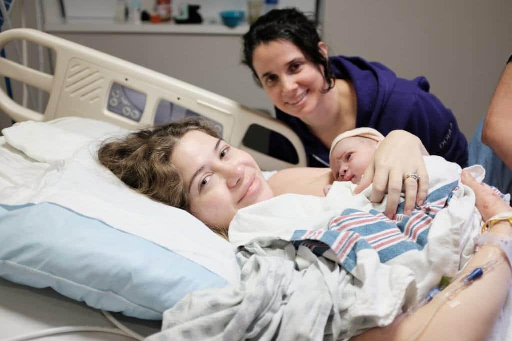naissance en maternité avec une doula